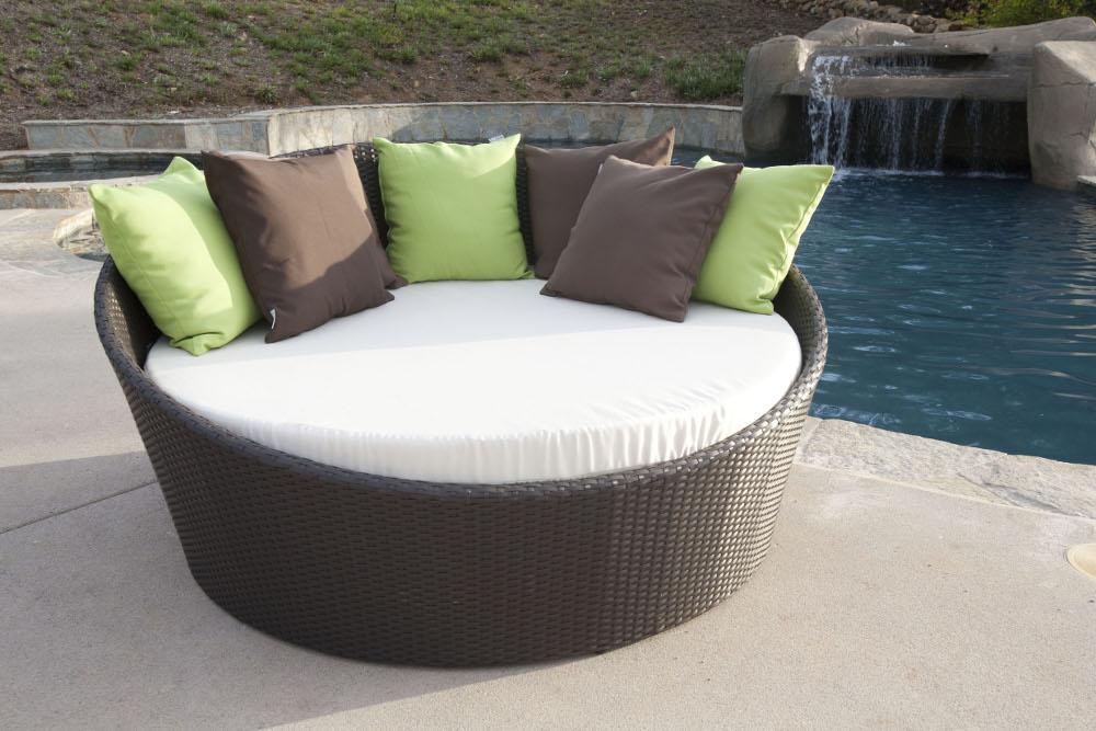 Daybed Circular Modern. Outdoor Furniture ... - Daybed Circular Modern – Hotel Furniture & Furnishings